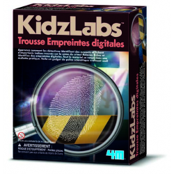4M - Detective Science Finger Print Kit (French Edition)