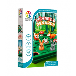 Smart Games - Lièvres et renards (French Edition)