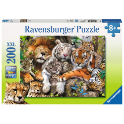 Ravensburger Puzzle 200 XXL pcs - Big Cat Nap