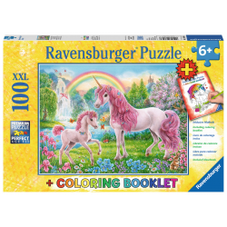 Ravensburger Puzzle 100 XXL pcs - Magical Unicorns