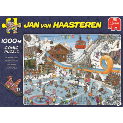 Jumbo Puzzle JVH 1000 pcs  The Winter Games
