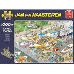 Jumbo Puzzle JVH 1000 pcs The Locks