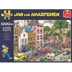 Jumbo Puzzle JVH 1000 pcs  Friday the 13th