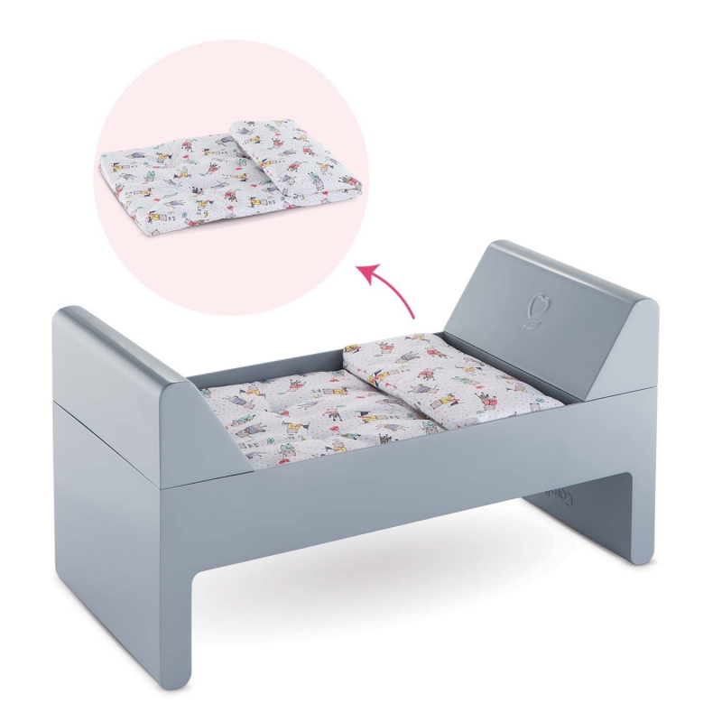 """Corolle Baby 12"""",14"""" and17"""" Crib & Bed"""