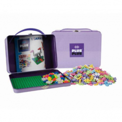 Plus Plus Metal Suitcase Pastel 600pcs