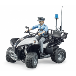 Bruder Police Quad With...