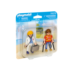 Playmobil Doctor and Patient Playmobil Toys