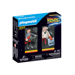 Playmobil Back to the Future Marty Mcfly et Dr. Emmett Brown