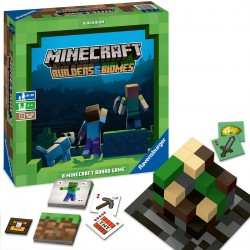 Ravensburger Minecraft Builders et Biomes