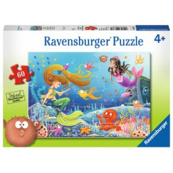 Ravensburger Puzzle 60 pc Mermaid Tales