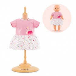 Corolle Dress - Swan Royal for 12-inch Baby Doll