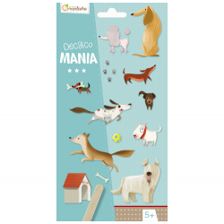 "Avenue Manderine Decalco Mania Transfers ""Dog"""