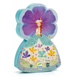 Djeco Silhouette Puzzle 36 pcs Princess of Spring