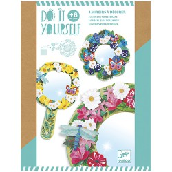 Djeco DIY Mirrors to decorate Pretty flowers