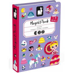 Janod Princesses Magneti'Book