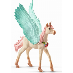 Schleich Decorated Unicorn Pegasus