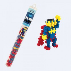 Plus Plus Tube -  70 pcs SuperHero