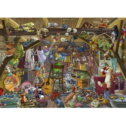 Heye Puzzle 1000 pcs In the Attic