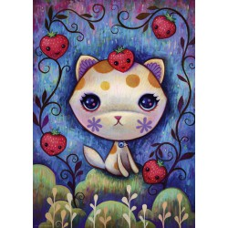 Heye Puzzle 1000 pcs Strawberry Kitty