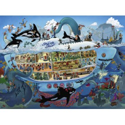 Heye Puzzle 1500 pcs Submarine Fun