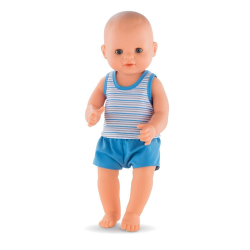 Corolle Doll - Paul Drink-and-Wet Bath Baby