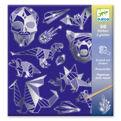 Djeco Scratch cards Iron