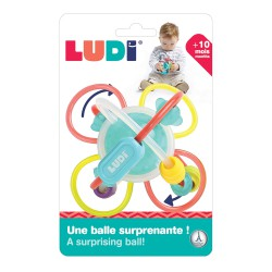 Ludi Twist Ball Rattle