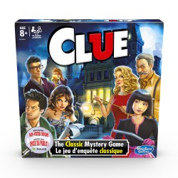 Hasbro Clue Game New Edition