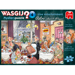 Wasgij Puzzle 1000 pcs Retro Mystery 4 Where it all began!