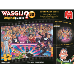 Wasgij Puzzle 1000 pcs Original 30 Strictly Can't Dance!