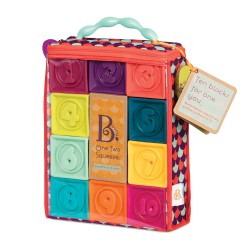 """B. Baby Blocs souples """"One Two Squeeze"""""""