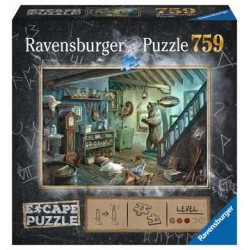 Ravensburger Escape Puzzle 759 pcs Forbidden Basement