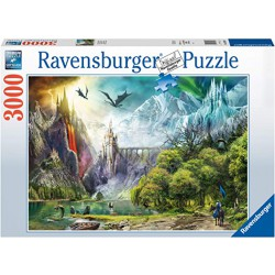 Ravensburger Puzzle 3000 pcs Reign of Dragons