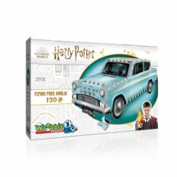 Wrebbit 3D Puzzle Harry Potter - Flying Ford Anglia (130...