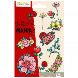 Avenue Mandarine Tattoo' Mania, Flowers