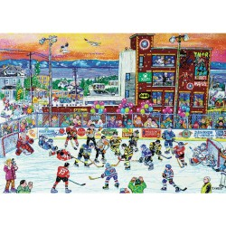 Trefl Puzzle 1000 pcs Ice Hockey