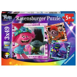 Ravensburger Puzzle 3x49 pcs Trolls 2 World Tour