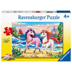 Ravensburger Puzzle 35 pcs Beach Unicorns
