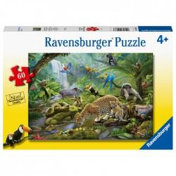 Ravensburger Puzzle 60 pcs Rainforest Animals