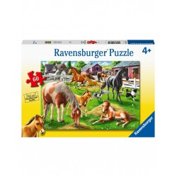 Ravensburger Puzzle 60 pcs Happy Horses