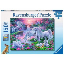 Ravensburger Puzzle 150 pcs XXL Unicorns in the Sunset Glow