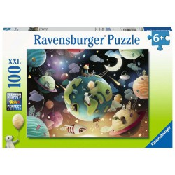 Ravensburger Puzzle 100 pcs XXL Planet Playground