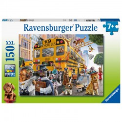 Ravensburger Puzzle 150 pcs XXL Pet School Pals