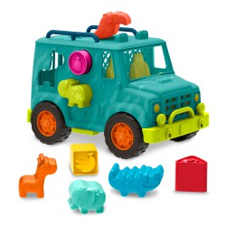 """B.Toys - Happy Cruisers Camion à formes """" Rollin' animal..."""