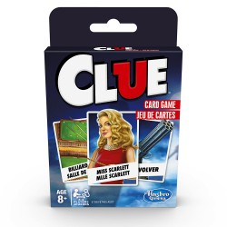 Hasbro Classic Card Game - Clue bilingual
