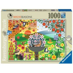 Ravensburger Puzzle 1000 pcs I Like Birds - Birdie Seasons
