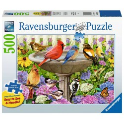 Ravensburger Puzzle Large 500 pcs At the Birdbath