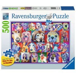 Ravensburger Puzzle Large 500 pcs Hello Doggie
