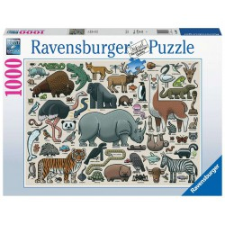 Ravensburger Puzzle 1000 pcs You Wild Animal