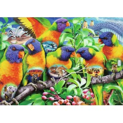 Ravensburger Puzzle 1000 pcs Land of the Lorikeet